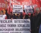 Zeytinburnu Nakliyeciler Sitesi çalışanları eylemde!