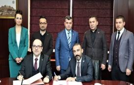 Gaziantep'te Kent, İnşaat Ve Ekonomi Kongresi için protokol imzalandı!