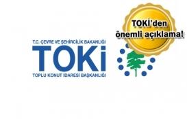 TOKİ'den 'sahtecilik ve dolandırıcılık' açıklaması!