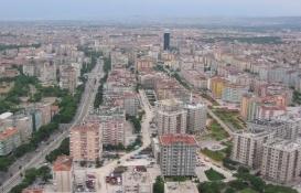 Konya'da Şubat ayında bin 906 konut satıldı!