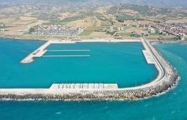Hatay Madenli Yat Limanı ile Su Sporları Merkezi inşaatında sona gelindi!