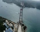 Üçüncü köprünün kuleleri 300 metreyi aştı!