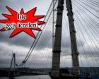 Rakamlarla Yavuz Sultan Selim Köprüsü!