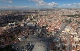 Konya'da 313.7 milyon TL'ye satılık 24 gayrimenkul!