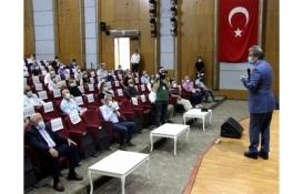 Kayseri'de site ve bina yöneticileri pandemi için toplandı!