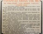 1951 yılında İstanbul'da arsası olmayan vatandaşa 20 lira taksitle arsa!