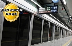 İstanbul'da 2 senede 30 kilometrelik metro hattı açıldı!