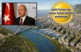 İstanbul boğazı S.O.S verdiği için Kanal İstanbul'u yapıyoruz!