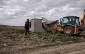 Kapadokya'da 5 yapı daha yıkıldı!