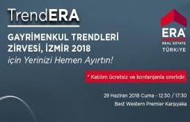ERA Gayrimenkul Türkiye İzmir'in nabzını tutacak!
