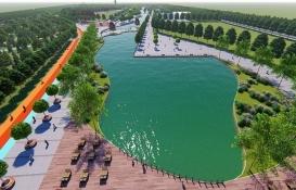Türkiye'nin en büyük millet bahçesi Kayseri'de inşa ediliyor!