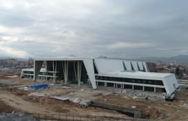 Konya YHT Garı'nın inşaatı havadan görüntülendi!