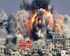 Gazze'de yıkılan bina molozları temizleniyor!