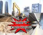Esenler Tekstilkent - Giyimkent Metro İstasyonu'nda son durum!