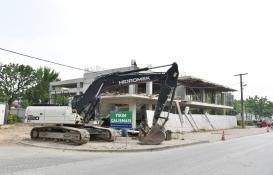 Bursa Nilüfer'dekikaçak bina yıkılacak!