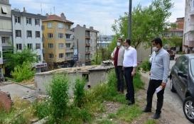 Süleymanpaşa'daki sıra dükkanlar yıkılıyor!