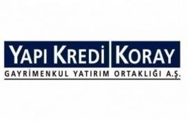 Yapı Kredi Koray GYO, Ankara Çankaya projesinden hisse sattı!