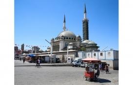 Taksim Cami'de genel işçiliğinin yüzde 65'i tamamlandı!
