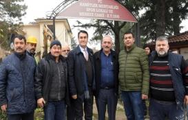 Osmangazi'deki eski muhtarlık ve spor kulübü binası yenileniyor!