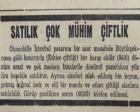 1953 yılında Büyükçekmece'de göl kenarında 9.410 dönüm arazi satılacakmış!