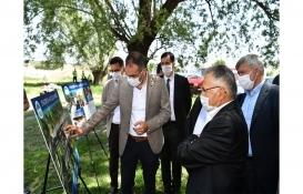 Kayseri Etnospor ve Okçuluk Merkezi tesislerinin temeli atıldı!