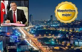 Ataşehir'in imar planları 30 günde hazırlanacak!