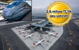 3. Havalimanı-Çatalca Demiryolu için düğmeye basıldı!