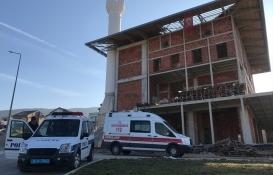 Bursa'da cami inşaatından düşen işçi öldü!