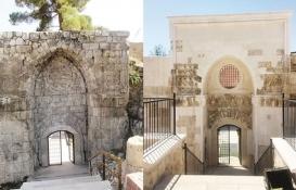 800 yıllık Alaaddin Camisi'nin taç kapısı yenilendi!
