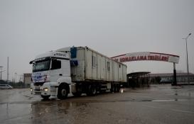 Kilis'ten deprem bölgesine 'konteyner ev' desteği!