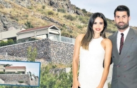 Volkan Demirel'in Turgutreis'teki lüks villasında yangın tehlikesi!