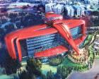 Ferrari, İspanya'da F1 aracına benzeyen otel ve eğlence parkı yapacak!