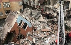 Bahçelievler'de çöken binayla ilgili soruşturma başlatıldı!