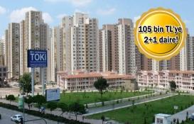 TOKİ'den 460 TL taksitle konut fırsatı!