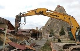 Kapadokya'daki talan tepki topladı!