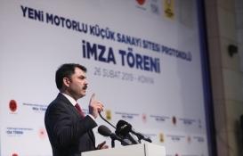 Murat Kurum: Atıl arazileri sektörlerimize kazandıracağız!