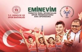 Eminevim, Türkiye Özel Sporcular Spor Federasyonu'na sponsor oluyor!