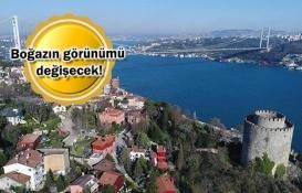 İstanbul Boğazı imara