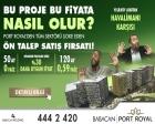 Babacan Port Royal'de 277 bin liradan başlayan fiyatlarla!