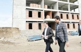 Yozgat DSİ Hizmet Binası'nın inşaatı hızlandı!