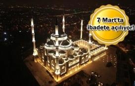 Çamlıca Camii'nde son durum!