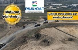 Emlak Konut GYO'nun Başakşehir arsası için yeni plan!