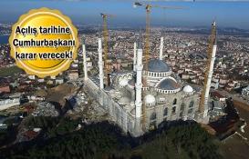 Çamlıca Camii ve Küçük Çamlıca TV-Radyo Kulesi'nde son durum!