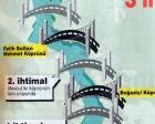 1996 yılında Üçüncü Boğaz Köprüsü'nün projesi hazırlanmış!