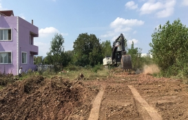 Köseköy'de yeni imar yolu açılıyor!