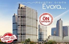Evora İzmir Alsancak nerede?
