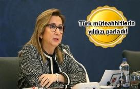 Türk müteahhitler yurt dışında 261 proje üstlendi!