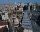 Taksim Camii'nin yarısından fazlası tamamlandı!