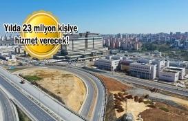Başakşehir İkitelli Şehir Hastanesi'nin ilk etabı yarın açılacak!