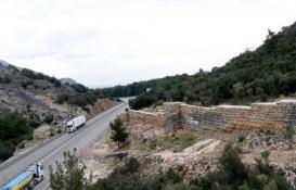 Antalya Termessos Antik Kenti'nin surları yeniden inşa ediliyor!